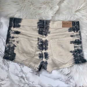 Wildfox Shorts - Willdfox 'Lara' Mid Rise Denim Cutoff Shorts